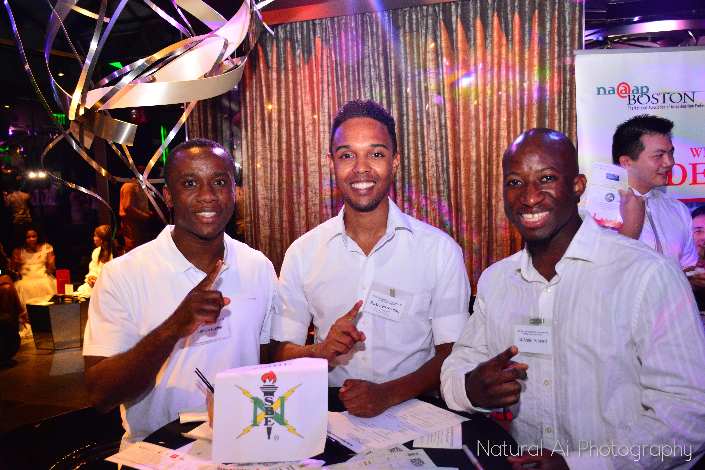 (L to R) Ledum Nordee, Rashaan Keeton, Al-amin Ahmed