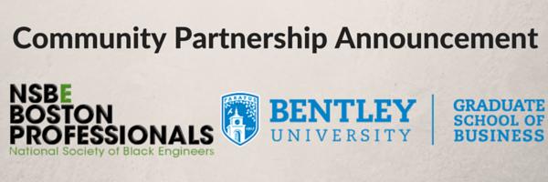 NSBE Boston Bentley University Partnership