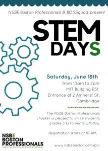 STEM day flyer